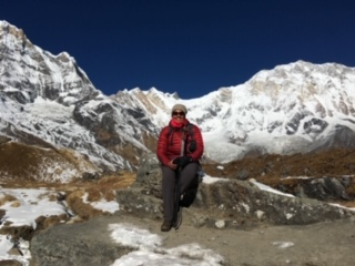 An anaesthetist at altitude