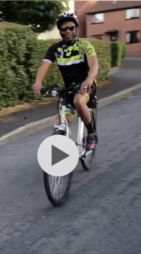 Cycling- Ceejay Ochukpue (SPR Anaesthetics)