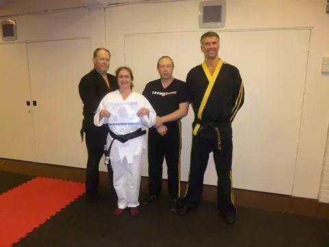 Black belt (2nd Dan )Taekwondo