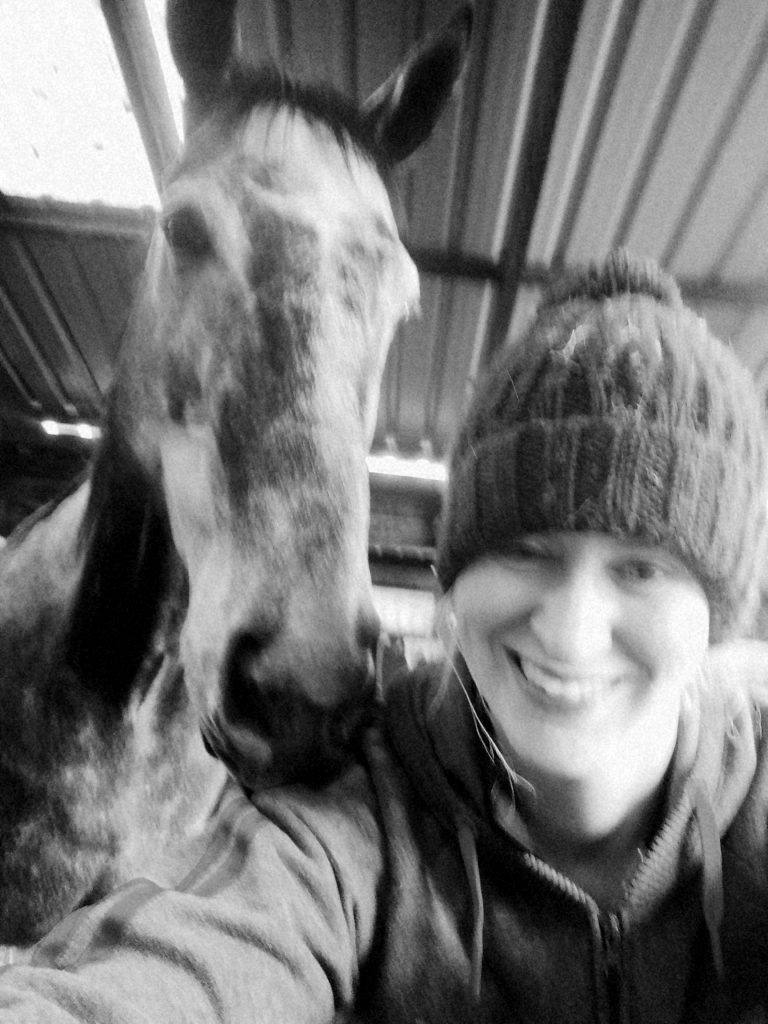 Horses, me and well-being